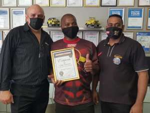 Our hero recognised for two decades of dedicated service 3