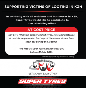 SUPPORTING VICTIMS OF LOOTING IN KZN 🇿🇦 2