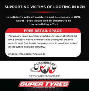 SUPPORTING VICTIMS OF LOOTING IN KZN 🇿🇦 3